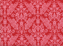 Riley Blake Damask Sparkle Red