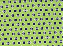 Riley Blake Gracie Girl Dots Cotton Green