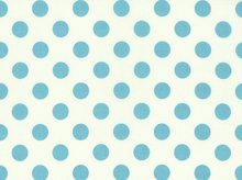 Riley Blake La Creme Dots Cotton Aqua