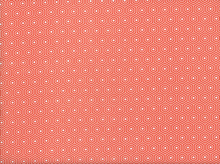 Riley Blake Lazy Day Hexagon Cotton Red