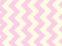 Riley Blake Le Creme Chevron Cotton Baby Pink