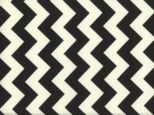 Riley Blake Le Creme Chevron Cotton Black