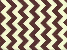 Riley Blake Le Creme Chevron Cotton Brown