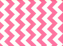Riley Blake Le Creme Chevron Cotton Hot Pink