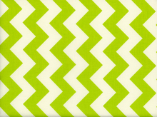 Riley Blake Le Creme Chevron Cotton Lime