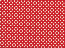 Riley Blake Le Creme Dot Cotton Red