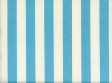 Riley Blake Le Creme Stripe Cotton Aqua