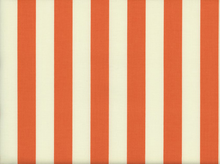 Riley Blake Le Creme Stripe Cotton Orange