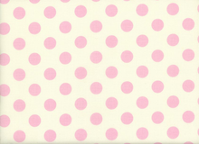 Riley Blake Medium Dot Cotton Baby Pink