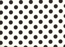 Riley Blake Medium Dot Cotton Black