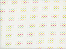 Riley Blake Mini Dot Cotton Multi White