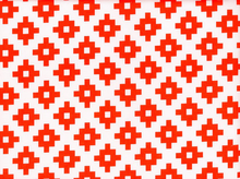 Riley Blake Mod Geometrics Cotton Red