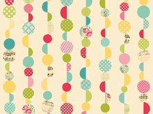 Riley Blake Sidewalks Marbles Cotton Fabric Cream
