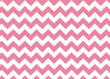 Riley Blake Small Chevron Jersey Knit Hot Pink