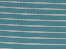Riley Blake Stripe Knit Grey and Teal