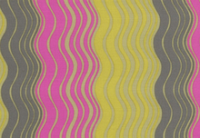 Ripple Stripe Designer Fabric by Amy Butler Grey