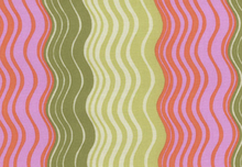 Ripple Stripe Designer Fabric by Amy Butler Sand