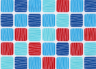 Robert Kaufman Crabby Squares Cotton Nautical White