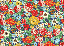 Robert Kaufman London Calling Floral Cotton Multi