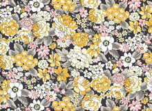 Robert Kaufman London Calling Floral Cotton Vintage