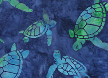 Robert Kaufman Turtle Batik Blue