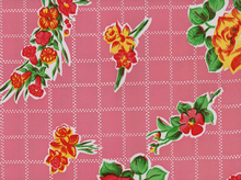 Rosegall Oilcloth Pink