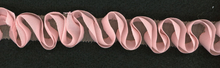 Ruffle Ribbon Loop Trim Rose