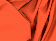 Rust Tahari Satin Fabric