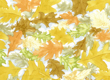 Rustic Canyon Cotton Fabric Yellow