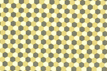 Sand Honeycomb Check Canvas Fabric by Joel Dewberry