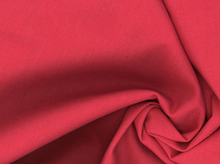 Santa Fe Linen Fabric Deep Red