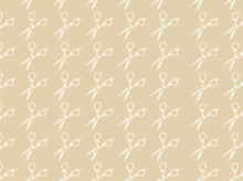 Muslin Mates Scissors Cotton Tan
