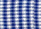 Seersucker Gingham Fabric Blue