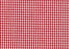 Seersucker Gingham Fabric Red