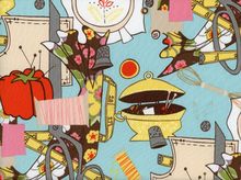 Sewing Themed Fabric