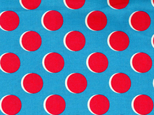 Shadow Dot Fabric Blue