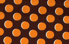 Shadow Dot Fabric Brown