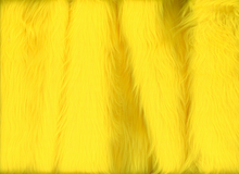 Shag Faux Fur Yellow