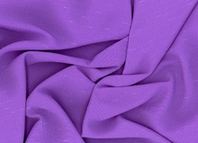 Shantung Plain Fabric Purple