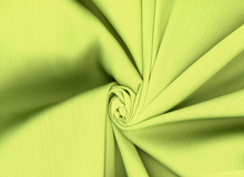 Sheer Satin Fabric Chartruese