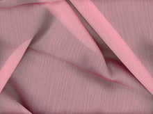 Silhouette Frost Poly Chiffon Pink