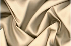 Silk Cotton Sateen Fabric Champagne