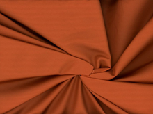 Silk Cotton Sateen Fabric Copper