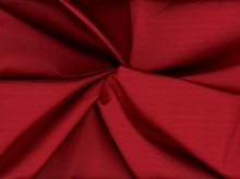 Silk Cotton Sateen Fabric Crimson