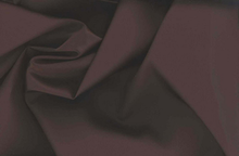 Silk Cotton Sateen Fabric Espresso