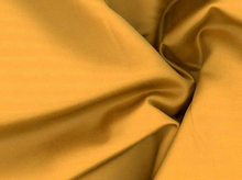 Silk Cotton Sateen Gold
