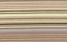 Siren Song Striped Cotton Fabric Brown