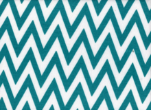 "Small Chevron Jersey White & Teal  <br><FONT COLOR=""fc7db0"">Employee Favorite!</FONT>"