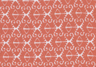 Spa Ikat Fabric Coral