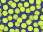 Sports Life Tennis Balls Cotton Royal